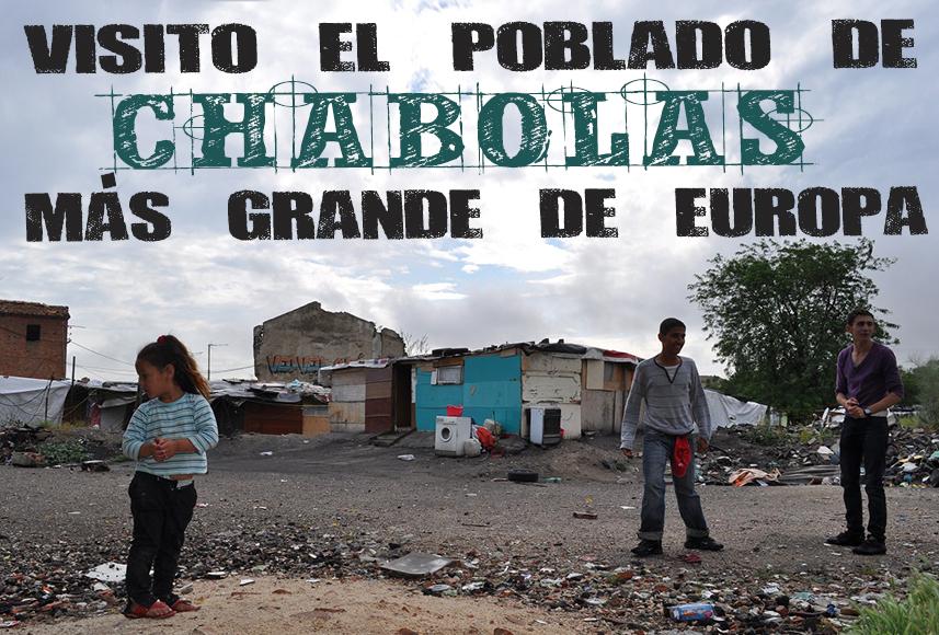 Visito el poblado chabolista más grande de Europa