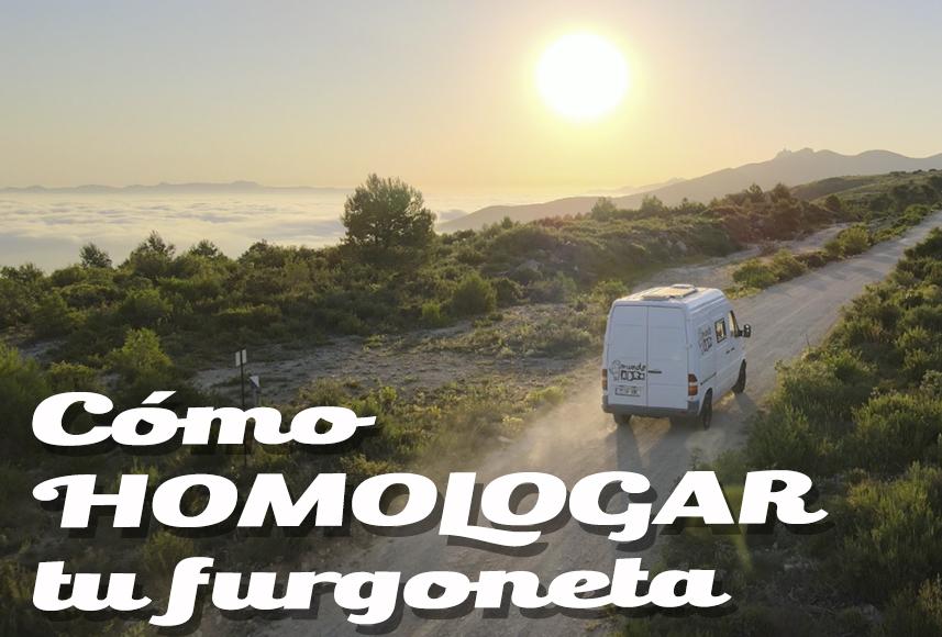 Cómo homologar tu furgoneta camper