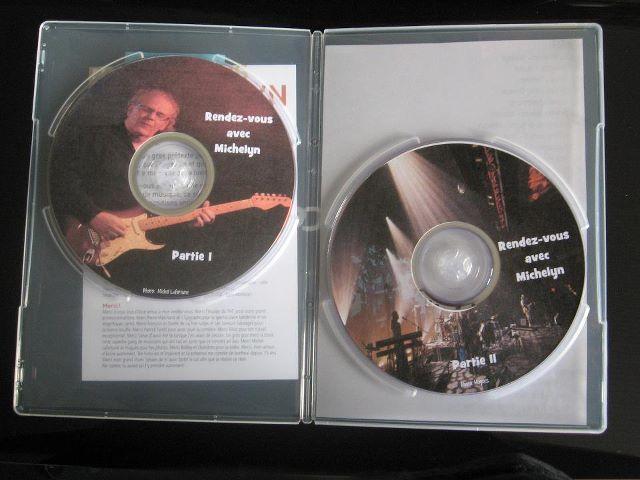 DVD double du spectacle de mon chum Michelin Allard au Théâtre Hector-Charland.