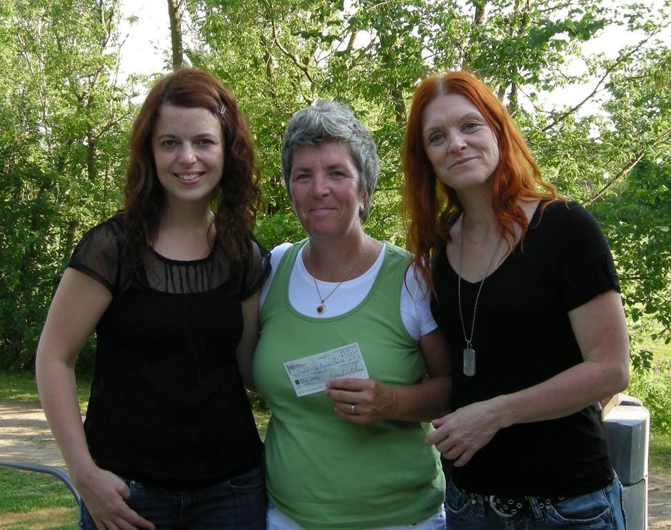 Martine Lebeau donne 50$ à la Fondation des maladies mentales.