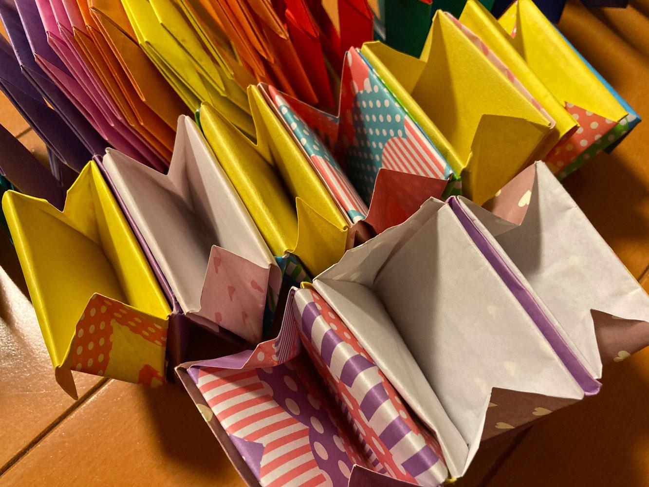 折り紙でペーパークラフト