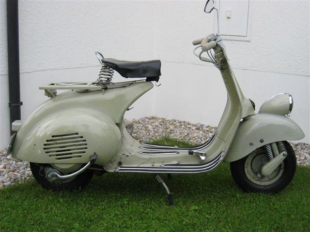 Vespa VM2 von 1954 im Originalzustand