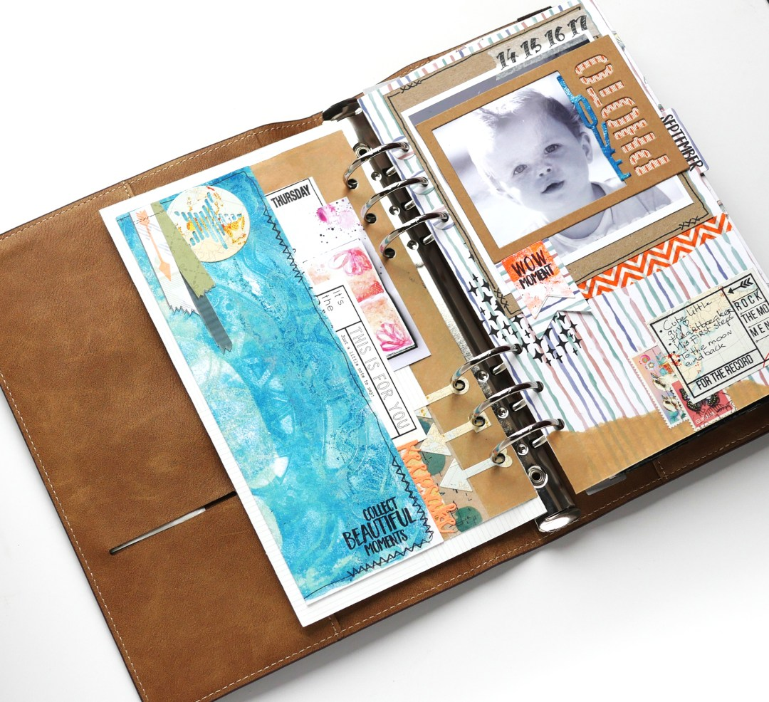 Blog Planner Essentials Vintage Ephemera Stempels Meer