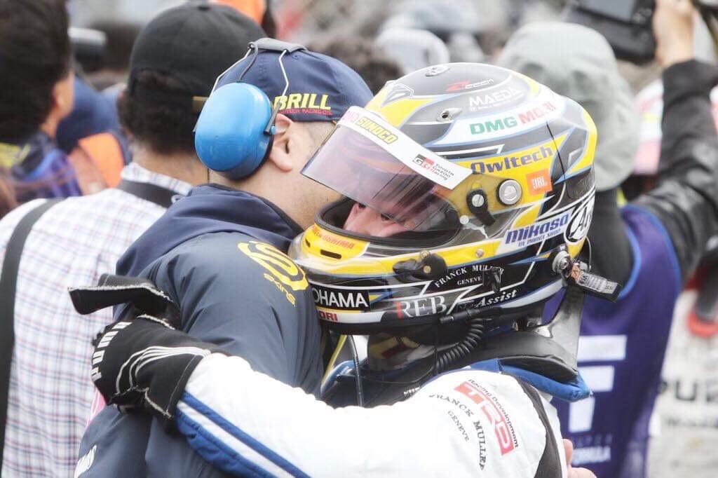 大嶋和也 2019 SUPER FORMULA Round2 AUTOPOLIS 決勝3位 Finish