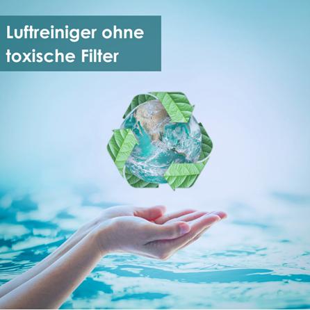 Nachhaltige Luftreiniger ohne toxische Filter