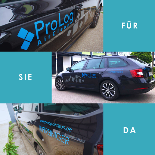 Wir sind für Sie da: ProLog AirClean Luftreiniger Vertrieb