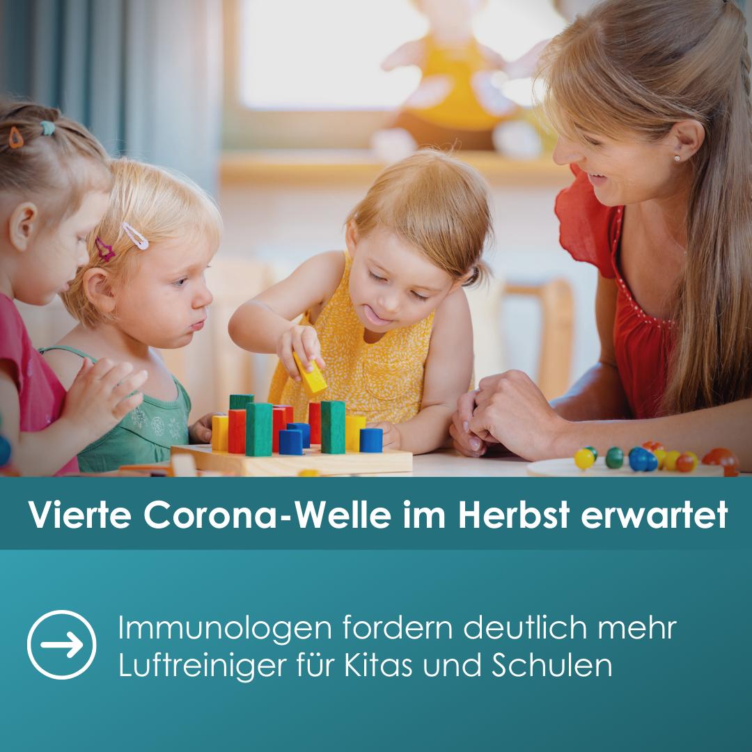 Immunologen fordern Luftreiniger für Kitas und Schulen