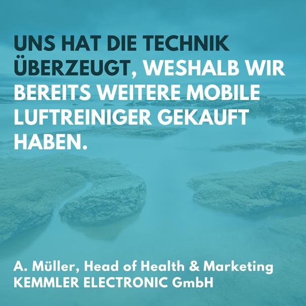 Rezension von unserem Kunden KEMMLER Electronic GmbH