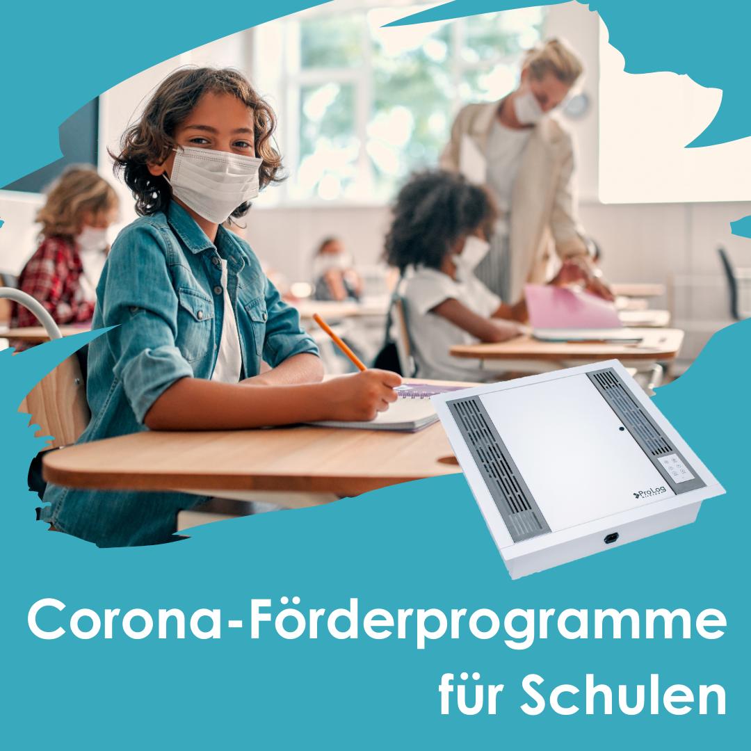 Corona-Förderprogramme für Schulen