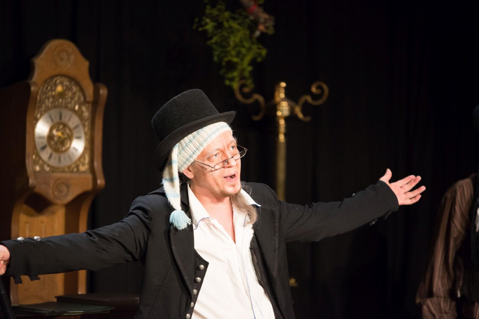 2019: Mr. Scrooge in Fröhliche Weihnachten, Mr. Scrooge