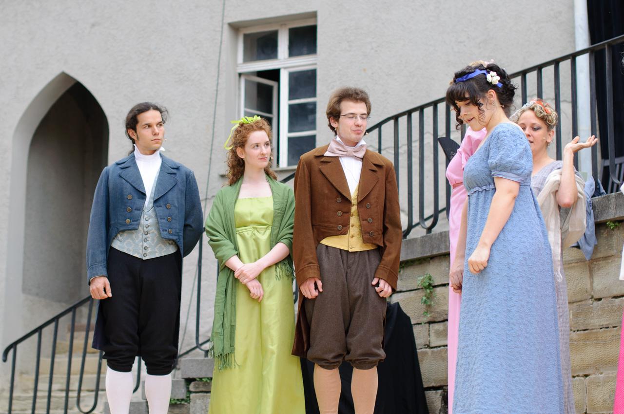 2010: Miss Bingley in Stolz und Vorurteil