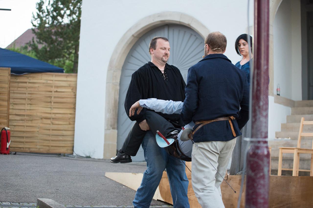 2013: Wachsoldat in Der Gefangene von Pembroke