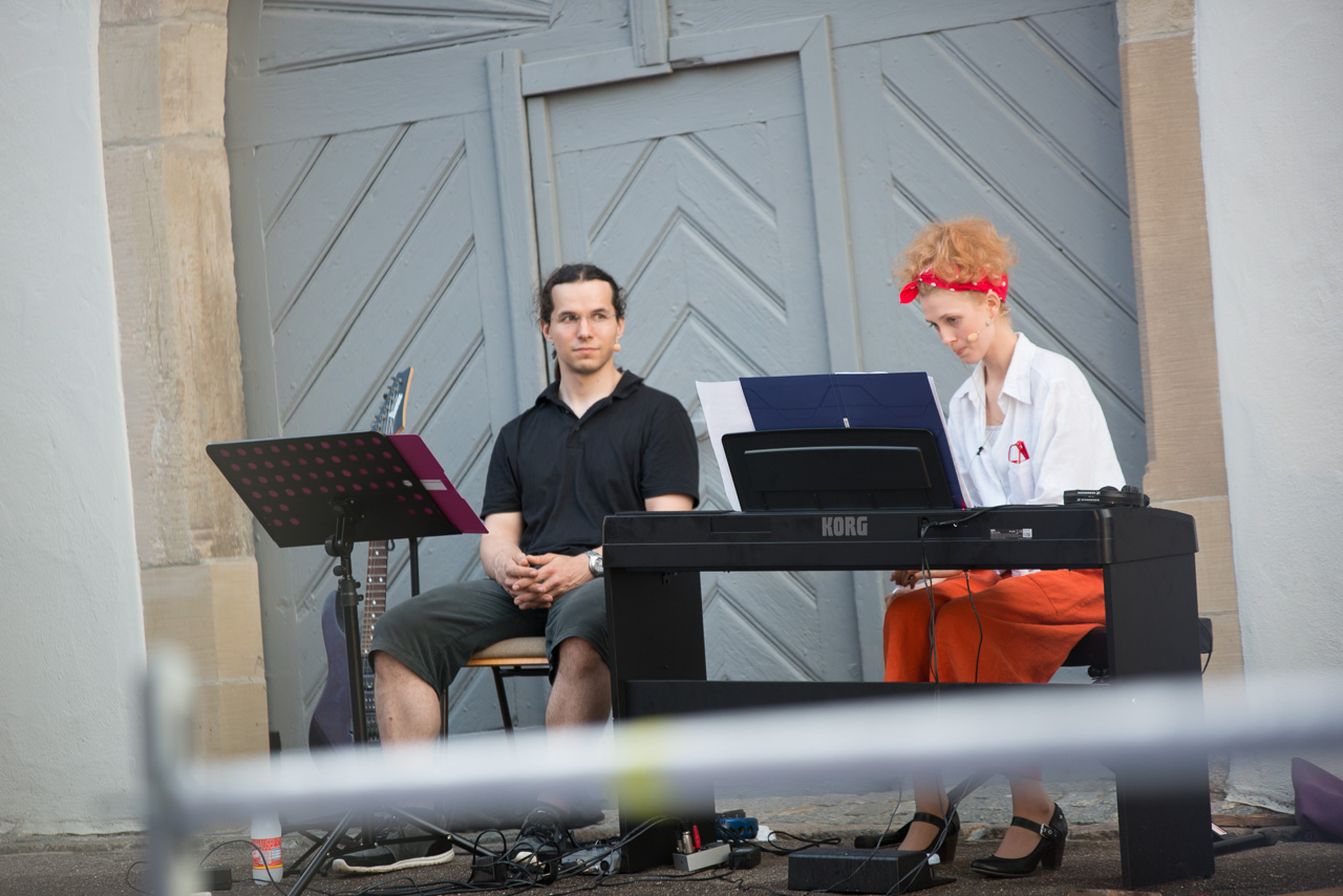 2014: Livemusik bei Elling