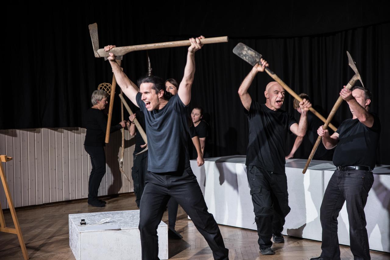 2017: Ensemble in Sag mal, Martin...