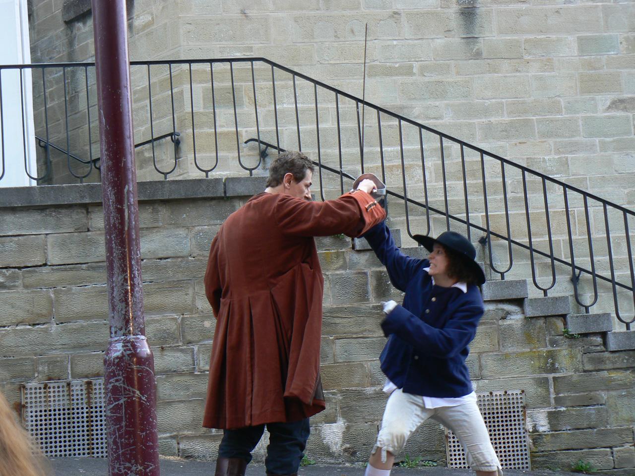 2007: Im-Weg-Steherin in Cyrano von Bergerac