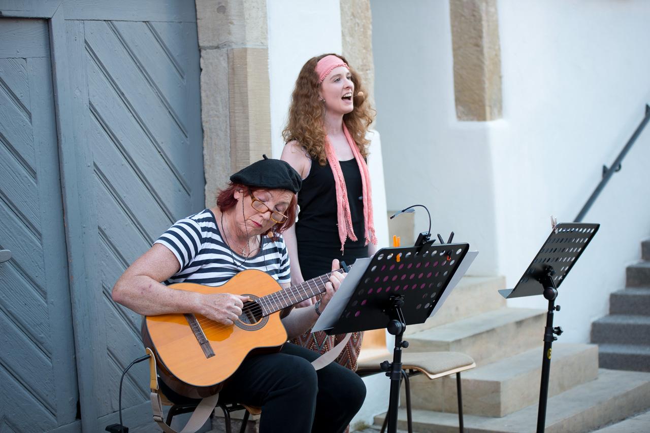 2016: Livemusik bei Zusammen ist man weniger allein
