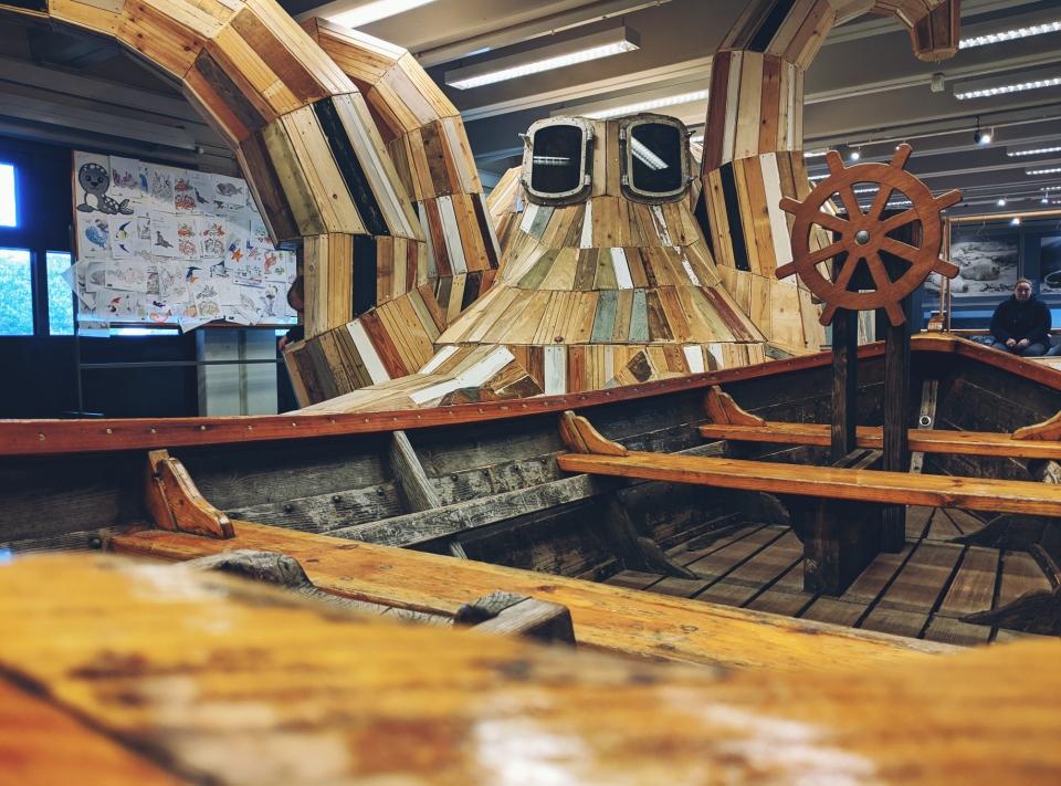 Innenspielplatz aus Holz