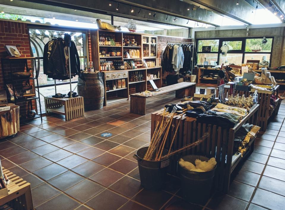 Schöner Shop am Ausgang