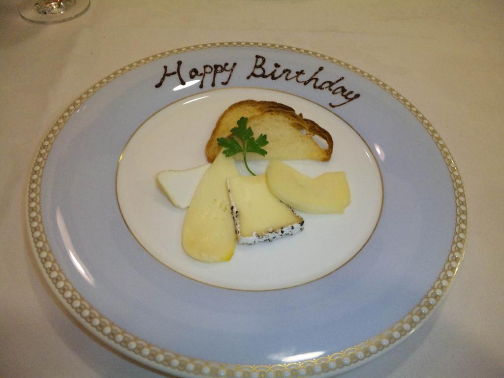 デザート(mino用)チーズ盛り合わせ