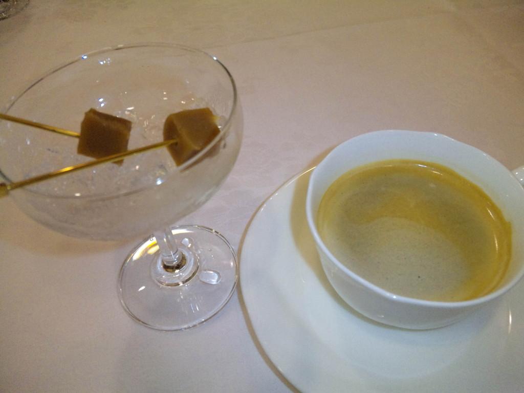 自家製生キャラメルとコーヒー