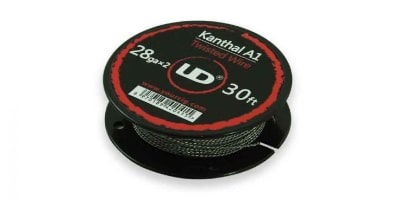 Wickeldraht UD Kanthal A1 Double Twisted