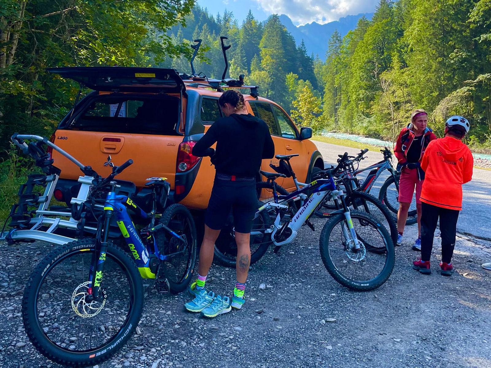 Mountainbike-Tour in das Karwendelgebirge