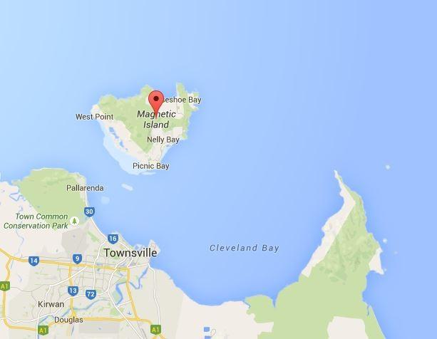 Eine Insel voller Koalas... (Quelle: Google Maps)