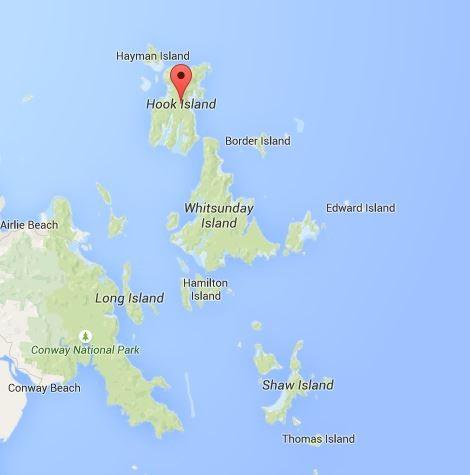 ...und der 2. Schnorchelspot. Herrlich. (Quelle: Google Maps)