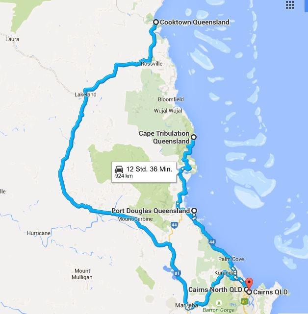 Am Ende haben wir unser Ziel erreicht... (Quelle: Google Maps)