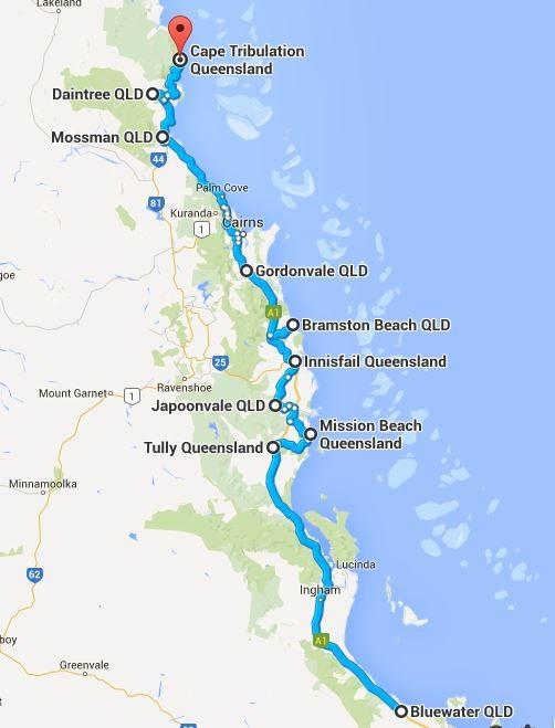 An manchen Orten bleibt man länger... (Quelle: Google Maps)