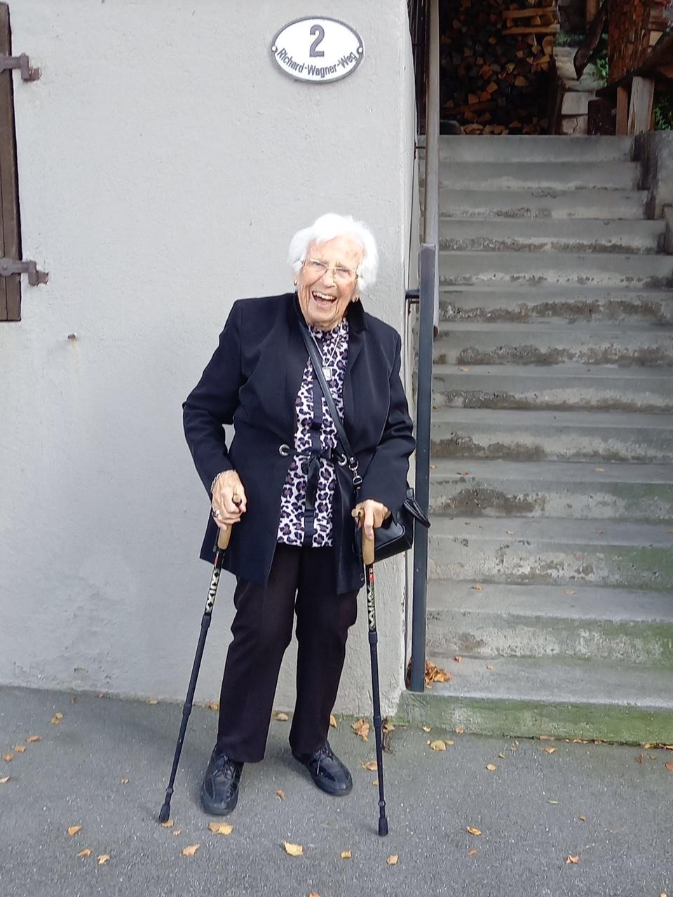 Besuch mit 101 Jahren