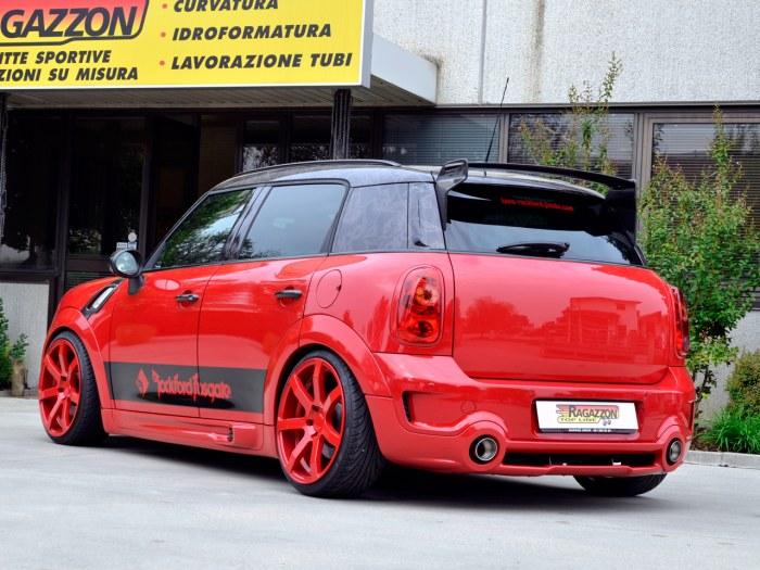 RAGAZZON マフラー ラガゾン ラガツォン MINI ミニ R60 クロスオーバー カントリーマン
