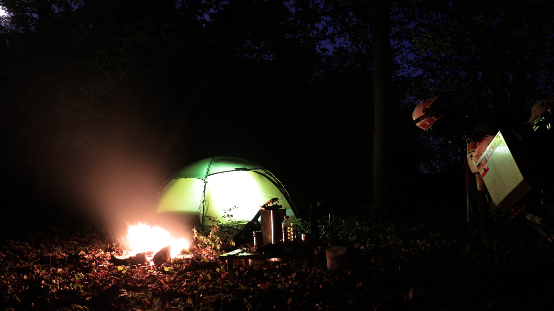 Wildcampen in Tschechien