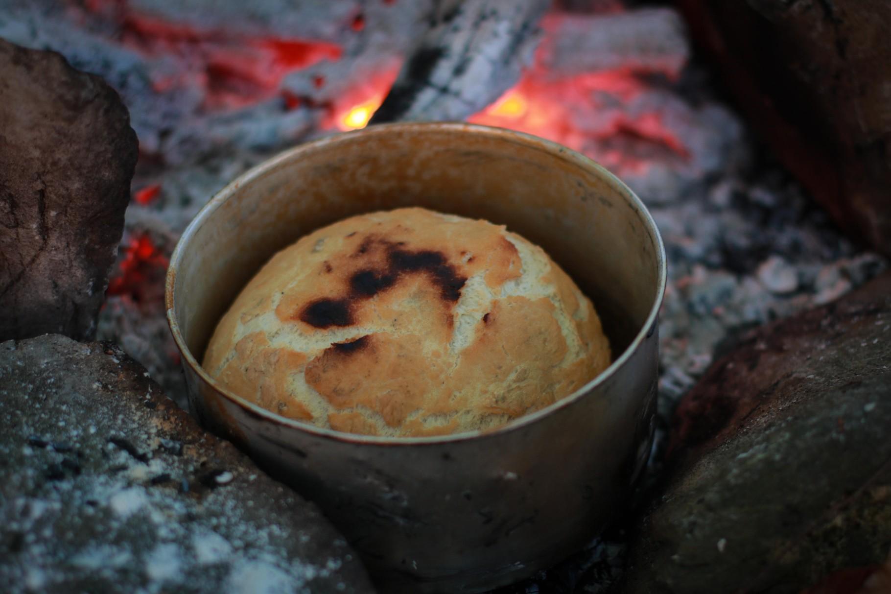 Erstes selbst gebackenes Brot