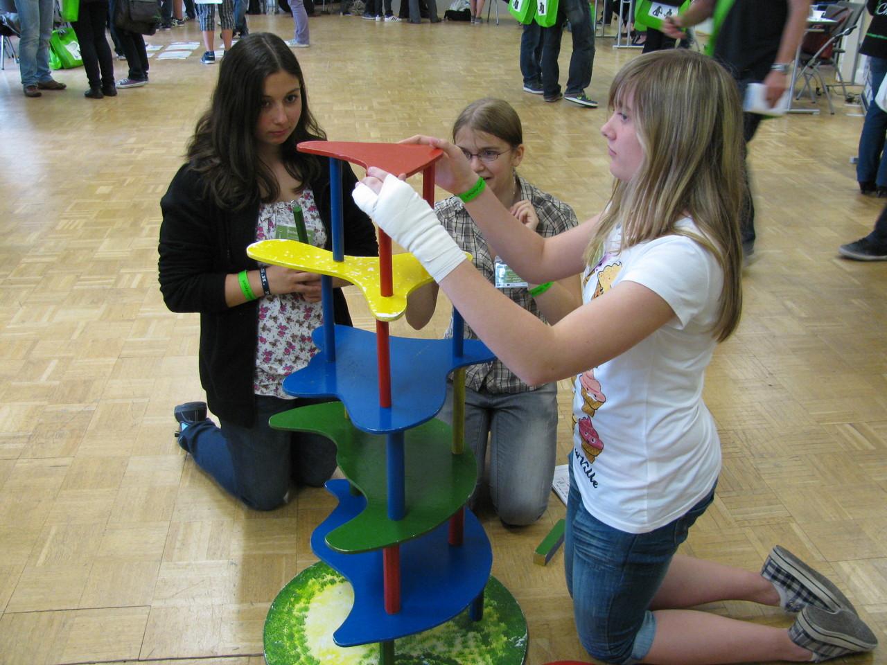 Darleen, Katharina & Annabell sind ein gutes Team