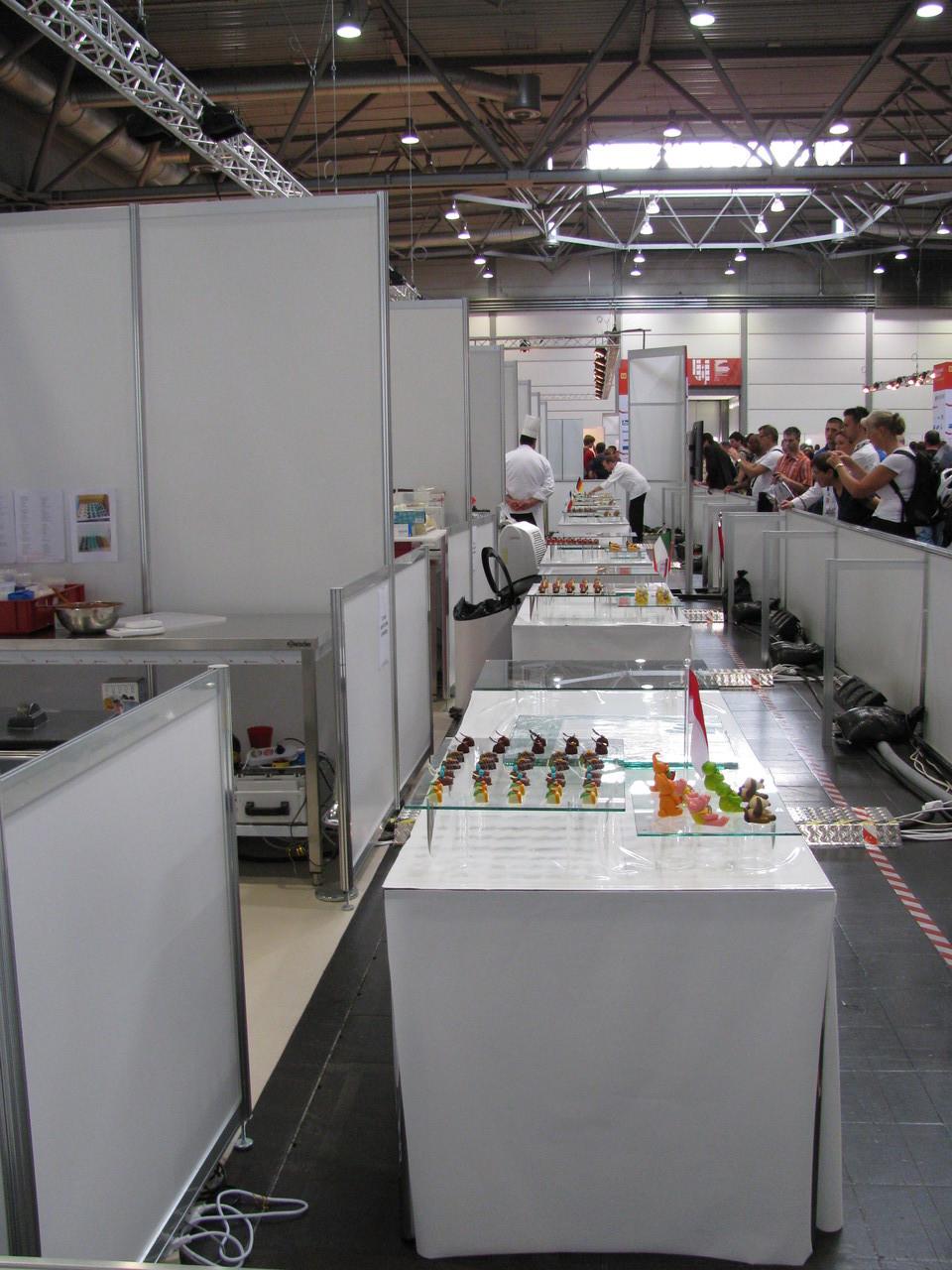 Während den WorldSkills Leipzig 2013 werden übrigens 1,2 Tonnen Schokolade verarbeitet.