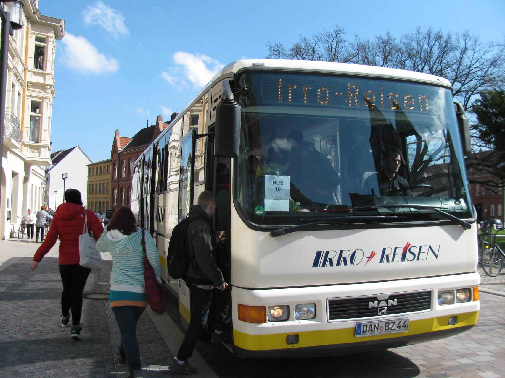 IRRO Reisen brachte uns sicher nach Genthin zurück