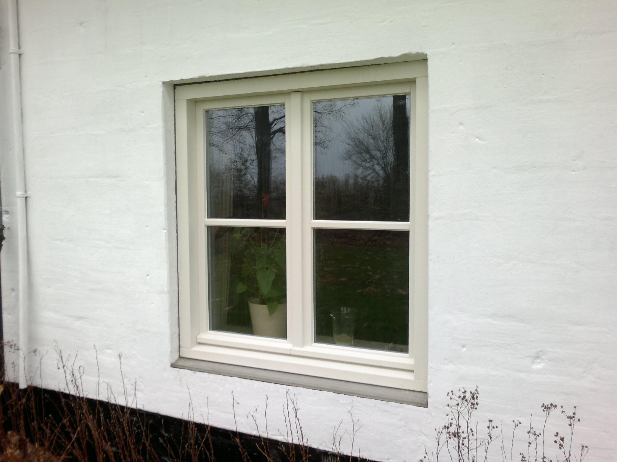 houten raam in Terblijt