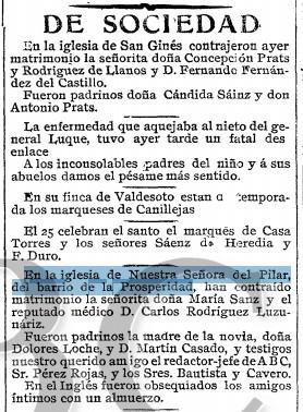 Nota ampliada ABC 23-02-1908 Parroquia del PILAR