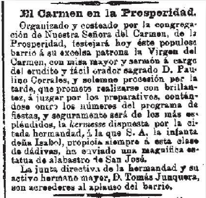La Correspondencia de España 16 de julio de 1899 (Biblioteca Nacional)