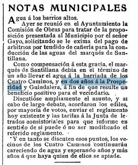 Nota ampliada del ABC 30 de julio de 1909