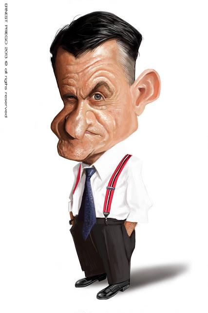 Caricatura de Ernesto Priego