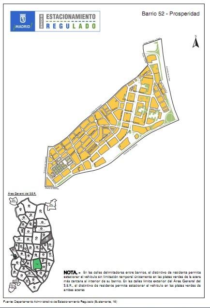 PROSPERIDAD  barrio 52 del SER
