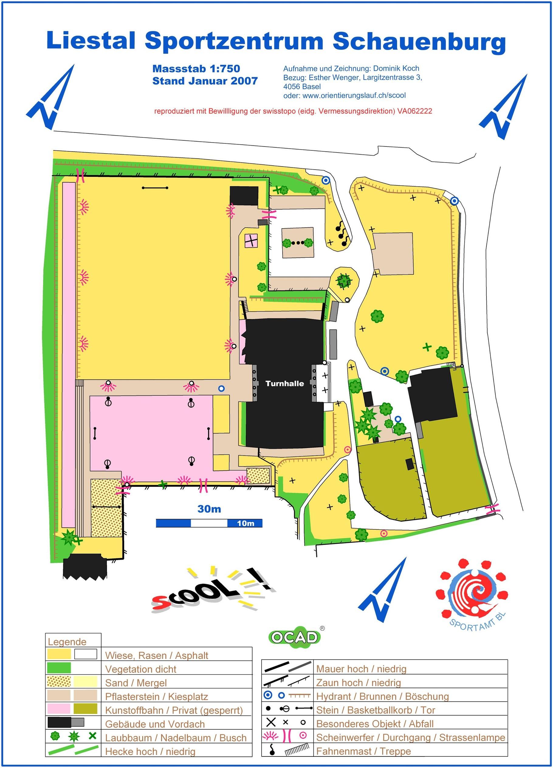 Scool-OL Sportzentrum Schauenburg - giblsports Webseite!