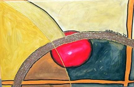Der Weg, das Ziel - Acrylmischgemälde - 70 x 50 cm - Nicht mehr verfügbar!
