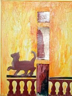 Katze - 30 x 20 cm - 90,--