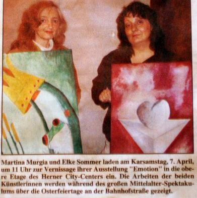 Vernissage: Emotion, Herne