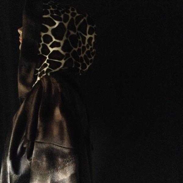 Chemise à Capuche FFur Girafe