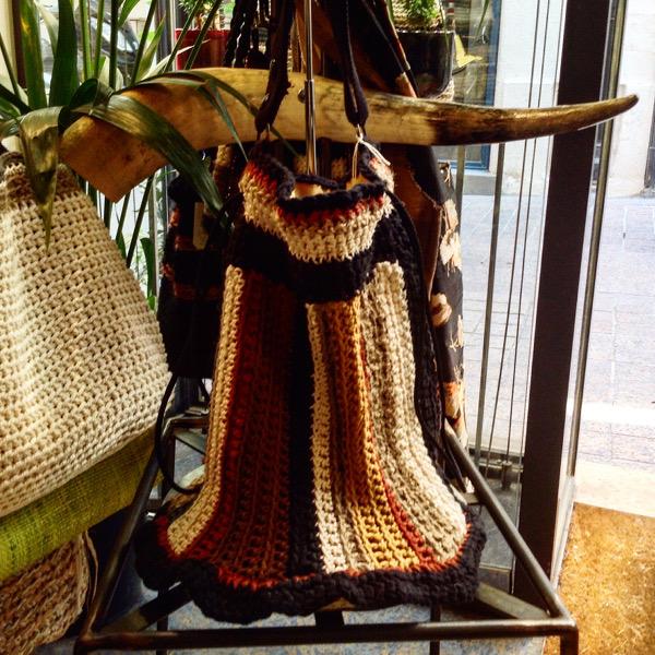 La Besace Coton multicolore