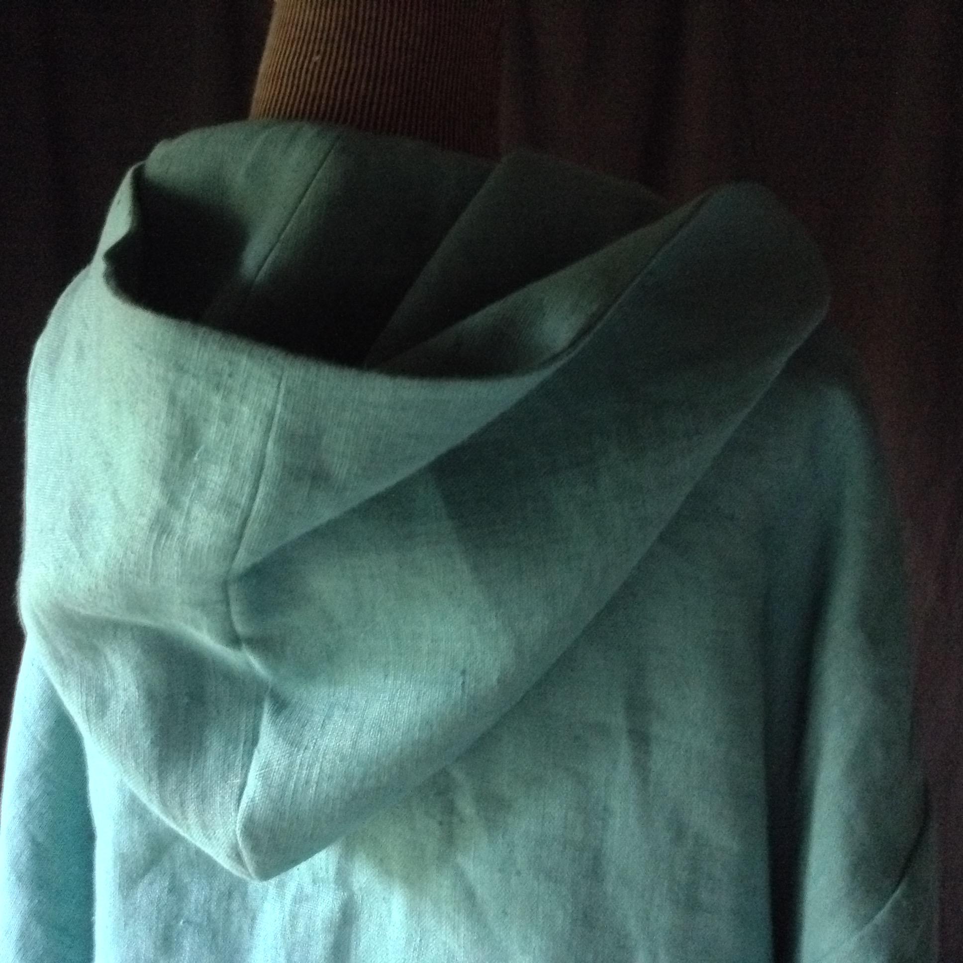 Chemise à Capuche Lin Lagon